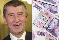 Boj o minimální mzdu. Babiš chce zvýšení maximálně o tisícovku, odbory o 1500 korun