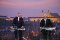Fischer a Topolánek se střetli v duelu Blesku: Kdy budou Češi platit eurem?
