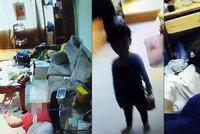 Hladovějící chlapec (3) žil s mrtvolami babičky (†60) a dědečka (†60). Hnily vedle něj několik dní