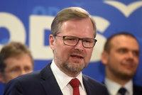 Fiala po znovuzvolení do čela ODS: Zemana už dál na Hradě nechceme