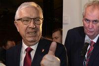 Drahoš přetáhl Zemanovi každého sedmého voliče. Chtějí víc důstojnosti, říká sociolog