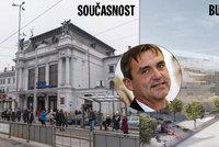 Primátor Brna Vokřál poprvé podpořil přesun nádraží k řece: Jde proti části koalice