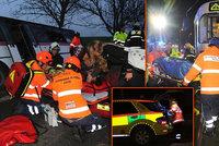 Druhý lednový týden v Praze byl pro záchranáře nejtěžším za 25 let: Ošetřili 81 lidí, zasahovali u 35 nehod