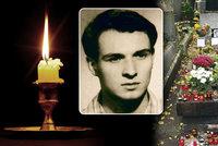 """49 let od smrti Jana Palacha. """"Chtěl nést světlo ve tmě pro ostatní,"""" vzpomíná historik"""
