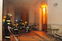 Ohnivé peklo v pražském hotelu: Policisté znají totožnost čtvrté oběti, je jí dvacetiletá Jihokorejka