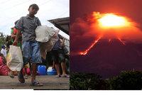 Sopka chrlí lávu, lidé vytahují plynové masky. Filipínám hrozí ještě větší nebezpečí