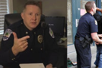 """""""Když to bude černoch, střílejte,"""" školil šéf policie nováčky. Amerika je v šoku"""