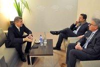 Babiš v Davosu jednal s premiérem Lucemburska. Řeč byla o financích i migraci
