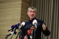 Babiš gratuloval Zemanovi a promluvil o vážné nemoci své Moniky i nové vládě