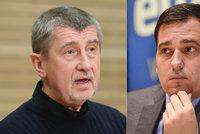 """""""Hlavní udavač Bruselu,"""" zuřil Babiš. Ubohé, žasne Zdechovský a zve premiéra marně na kafe"""