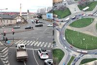Řidiči, pozor! Tohle jsou ty nejnebezpečnější křižovatky v Praze. Kde jde o život?