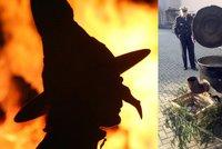 Čarodějnický útok v Německu: Dívka skončila v kotli, má vážné popáleniny