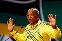 Vládní strana chce odvolat prezidenta. Zuma v JAR čelí korupčnímu skandálu