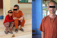 Čech vězněný v Kambodži má vyhráno?! »Zneužívaná« holčička ho objímala u soudu