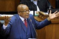 U Krejčíře rezignoval prezident. Zuma v JAR vyslyšel výzvu své strany