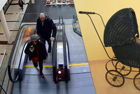 Zloději ukradli z obchodního centra historický kočárek: Policie je díky medializaci případu dopadla