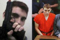 Valentýnský vrah poprvé u soudu: Zmasakroval 17 lidí, doufal v propuštění na kauci