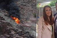 Svatební cesta novomanželů skončila tragédií: Manžel a jeho přátelé nepřežili pád vrtulníku v Grand Canyonu