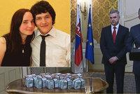 Po vraždě novináře Kuciaka policie chrání Češku. Fico ukázal odměnu milion eur