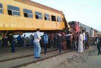 Egypt v slzách: Při vlakové nehodě zemřelo 15 lidí