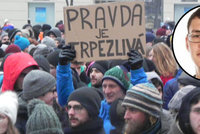 Brnem prošel smuteční pochod na počest zavražděných snoubenců Kuciaka (†27) a Kušnírové (†27)