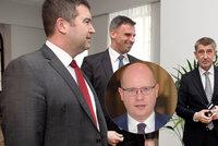 """Babiš o námluvách s ČSSD: """"Podrazák"""" Sobotka měl pustit mandát a jít pracovat"""