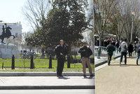 Panika u Bílého domu: Muž vypálil v davu několik ran. A pak se střelil do hlavy