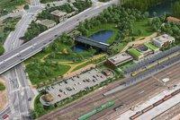 Stanice metra D Nádraží Krč: Město podepíše dohodu s vlastníky pozemků, první úsek má být v provozu v roce 2027