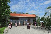 U stanice metra D vznikne nová budova. Firma vypsala soutěž, architekti mají volné ruce