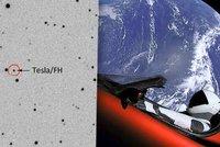 Čech vyfotil Muskův vůz ve vesmíru. Tesla mezi hvězdami zářila na soutěži
