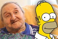 PŘÍMÝ PŘENOS: Pohřeb Vlastimila Bedrny (†89), českého hlasu Homera Simpsona!