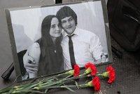 Zavražděný Kuciak a Martina se měli v sobotu brát. Tisíce Slováků vyšly do ulic