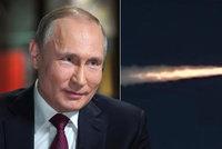 """""""Neviditelná"""" střela už má jaderný pohon. Rusové hlásí po blamáži úspěch ve zbrojení"""