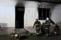 Tragická noc na Znojemsku: Při požáru zemřely tři malé děti!