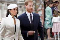 Meghan Markle poprvé na veřejnosti s královnou Alžbětou II.: Podívejte se, co si oblékla!