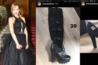 Mašlíková likviduje šatník: Luxusní kousky za cenu, kterou určí kupující!