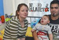 Útok neznámé choroby: Matyaskovi (1,5) vzala ručičku a nožičku
