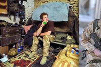 Princ Harry (33) během služby v Afghánistánu málem najel na minu: Smrt ho minula takřka o vlásek