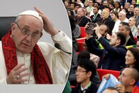 Prostituce je týrání žen, říkal papež mladým. Do Říma vyrazili i Češi Markéta a Oto