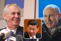 """Zeman píše Putinovi o """"upřímném potěšení"""" a zve ho do Prahy. Gratulaci zaslal i do Číny"""
