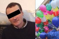 Sbohem, pane učiteli! Znojemská škola se loučila s ubitým kantorem, do nebe mu poslali balonky