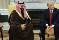 """""""Jenom moje smrt může zastavit reformy,"""" řekl saúdský vládce, než šel k Trumpovi"""