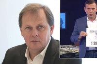 Mají znát Češi platy moderátorů ČT? Dvořák odráží další Soukupův útok