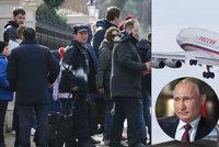 """Putin poslal pro vyhoštěné diplomaty """"Air Kokain"""". Luxusní letadlo s cejchem drog"""