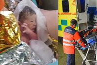 Maminka porodila v sanitce: Záchranářka Blanka se rozplakala dojetím