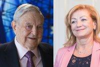 Kvůli Sorosovi se adeptka na ministryni omluvila. A chce zestátnit televizi