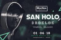 San Holo poprvé zavítá do Česka. Nekorunovaný král future bassu vystoupí živě v Praze