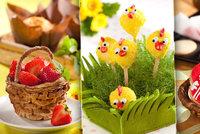 Velikonoce jsou tu: Vejce, lízátka i košíčka - 3 recepty na sváteční pečení