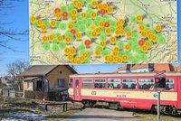 Železniční přejezdy smrti: Kde na řidiče čeká největší nebezpečí?
