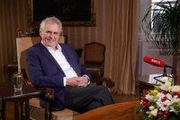 Zeman: Vláda bude do léta. Podepíšu variantu s ČSSD i s podporou KSČM a SPD